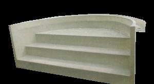 Escalier Roman | P.P.S. FRANCE - produits polyester