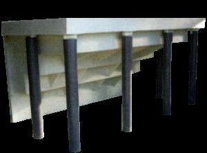 Escalier droit | P.P.S. FRANCE - produits polyester