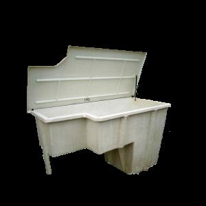 Locaux techniques à enterrer | P.P.S. FRANCE - produits polyester