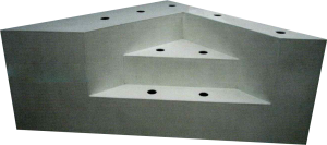 Escalier intérieur d_angle banquette | P.P.S. FRANCE - produits polyester